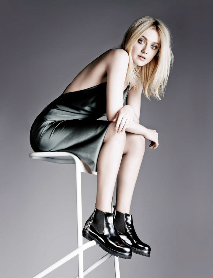 agl dakota fanning fall 2014 campaign Dakota Fanning Stars in AGL Fall/Winter 2014 Campaign