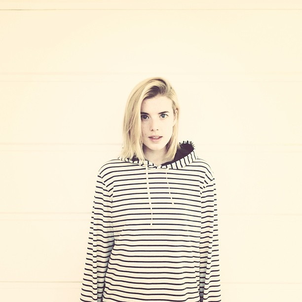Photo: Agyness Deyn. From her Instagram