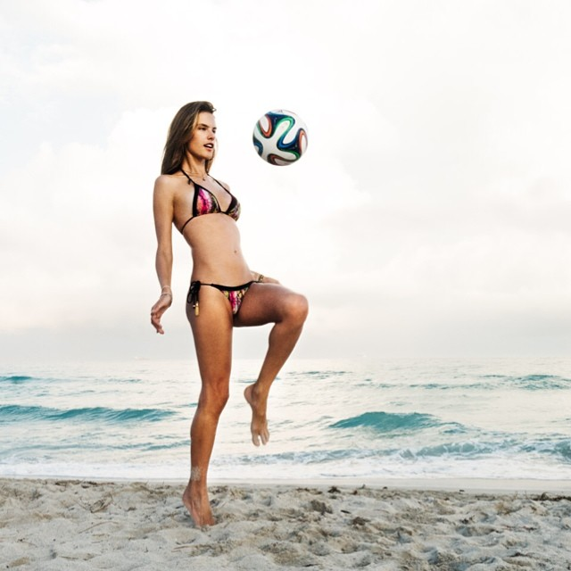 alessandra world cup Instagram Photos of the Week | Jessica Hart, Marloes Horst + More Models