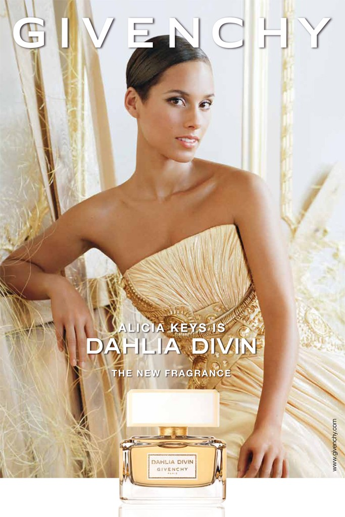 alicia keys givenchy dahlia divin ad campaign Alicia Keys Givenchy Fragrance Ad for Dahlia Divin Revealed