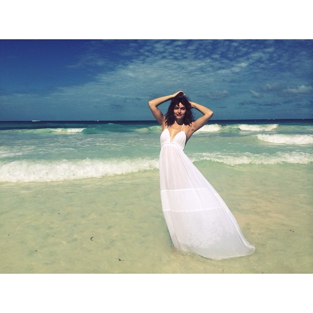 alyssa miller dress Instagram Photos of the Week | Barbara Palvin, Miranda Kerr + More Models