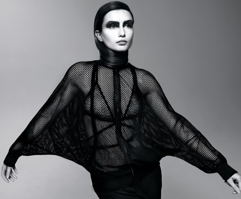 andreea diaconu model7 Andreea Diaconu is Daring in Intermission Shoot by John Scarsbrick