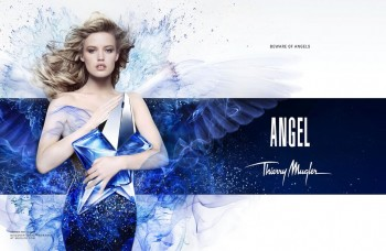 "Revealed: Georgia May Jagger in Thierry Mugler ""Angel"" Fragrance Ad"