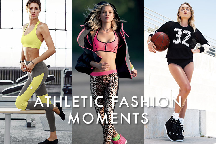 Good Sport! 10 Times Fashion Made Athletic Wear Chic