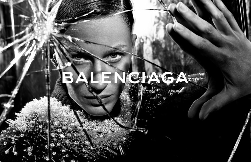 balenciaga fall winter 2014 advertisements1 Balenciaga Releases More Images From Fall 14 Ads with Gisele Bundchen