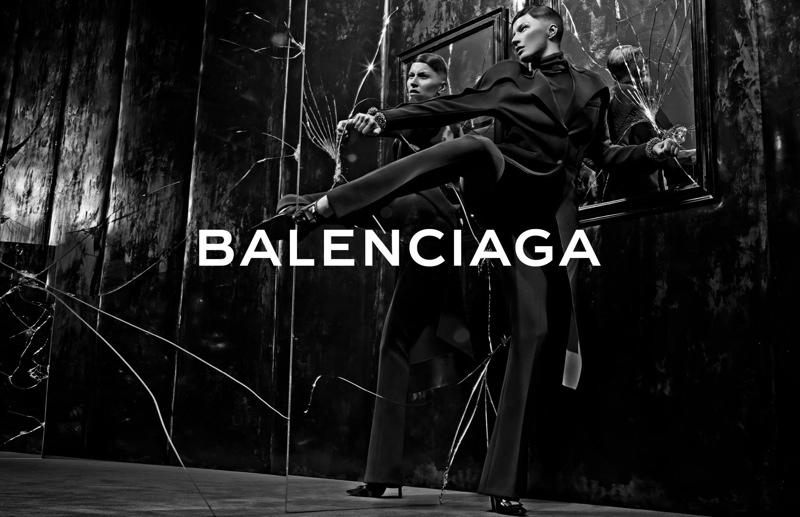 balenciaga fall winter 2014 advertisements3 Balenciaga Releases More Images From Fall 14 Ads with Gisele Bundchen