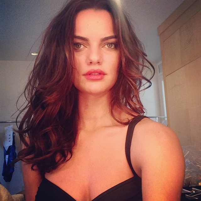 Barbara Fialho's fabulous hair. Image: model's Instagram
