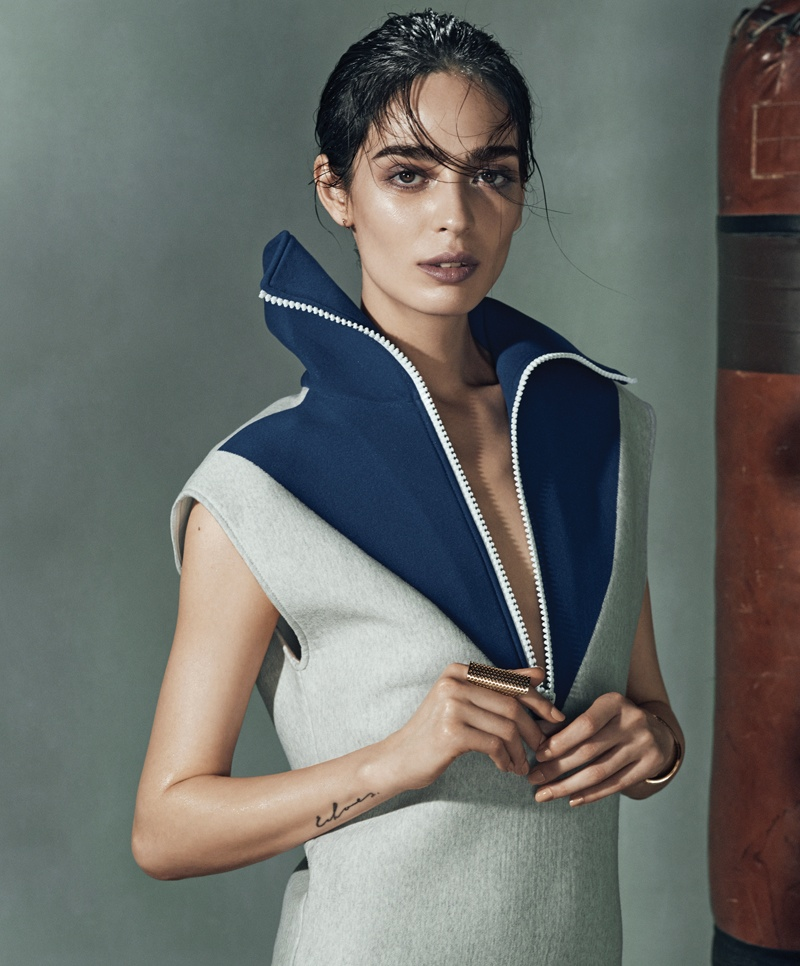 bazaar latin america knockout shoot3 Cristina Piccone is a Knockout for Harpers Bazaar Latin America Cover Shoot