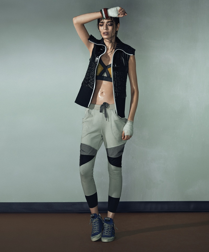 bazaar latin america knockout shoot6 Cristina Piccone is a Knockout for Harpers Bazaar Latin America Cover Shoot