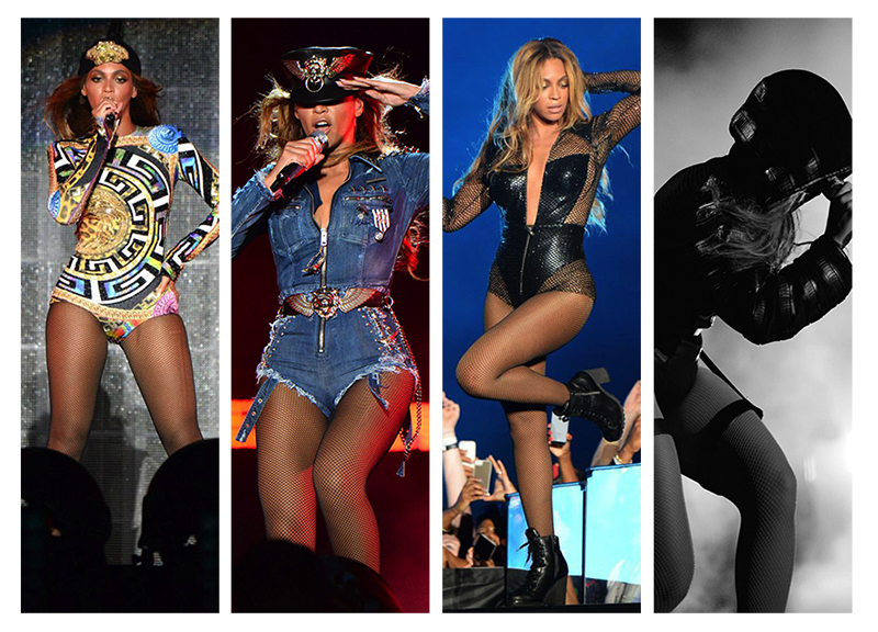 "Beyonce Kicks Off ""On the Run"" Tour in Designer Costumes"