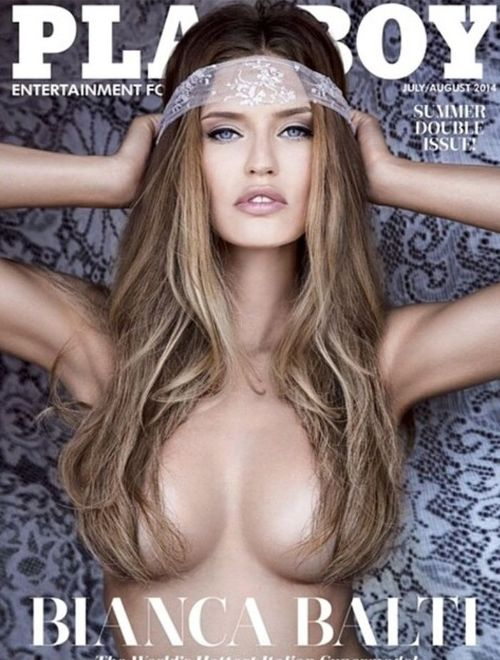 bianca balti playboy cover 2014 Bianca Balti Covers US Version of Playboy