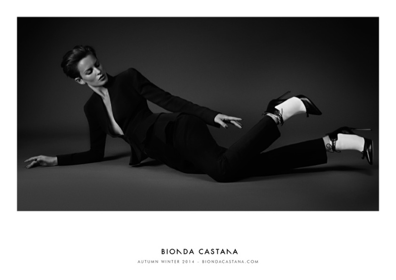 bionda castana fall winter 2014 campaign shoes1 Ellinore Erichsen Stars in Bionda Castanas Fall 2014 Campaign