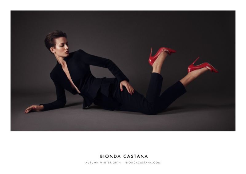 bionda castana fall winter 2014 campaign shoes2 Ellinore Erichsen Stars in Bionda Castanas Fall 2014 Campaign
