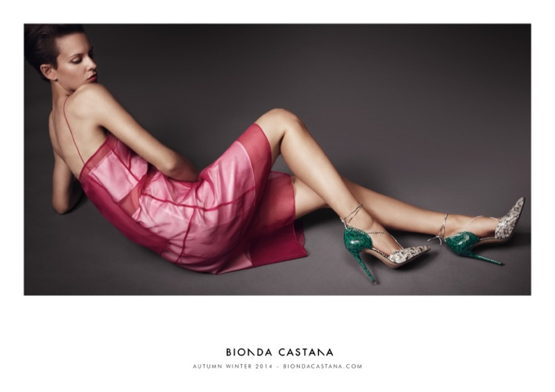 bionda castana fall winter 2014 campaign shoes3 Ellinore Erichsen Stars in Bionda Castanas Fall 2014 Campaign