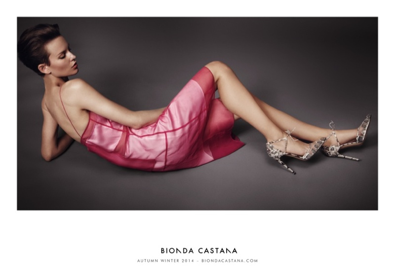 bionda castana fall winter 2014 campaign shoes4 Ellinore Erichsen Stars in Bionda Castanas Fall 2014 Campaign