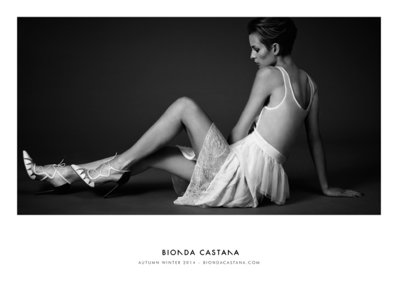 bionda castana fall winter 2014 campaign shoes5 Ellinore Erichsen Stars in Bionda Castanas Fall 2014 Campaign