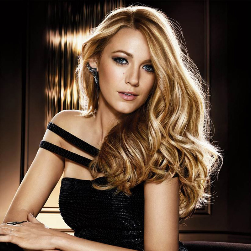 Blake Lively for L'Oreal Hair Ad. Photo: L'Oreal France