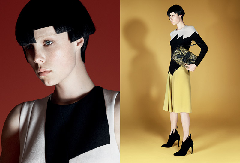 Edie Campbell Poses for Bottega Veneta Fall 2014 Campaign by David Sims