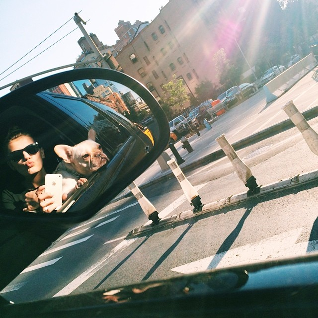 bregje car Instagram Photos of the Week | Barbara Palvin, Miranda Kerr + More Models