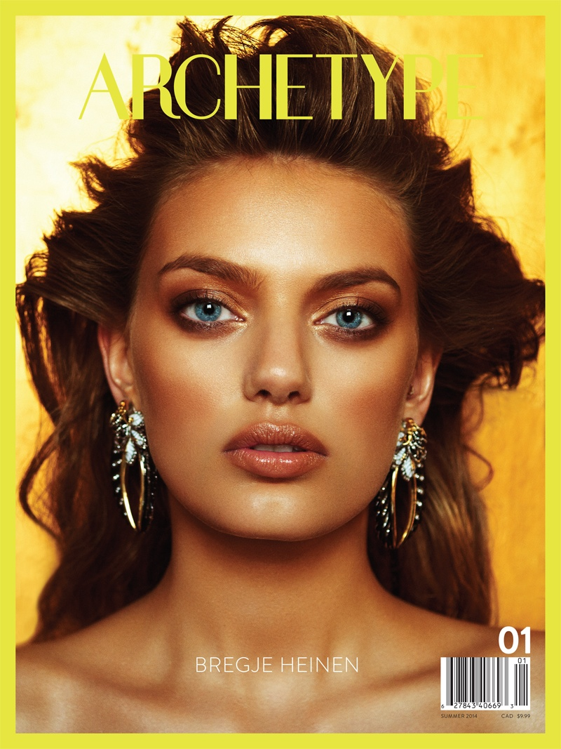 bregje heinen archetype sexy5 Bregje Heinen Glams it Up in Sexy Archetype #1 Cover Shoot