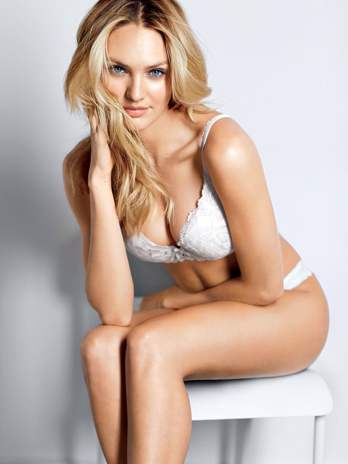 candice swanepoel victorias secret lingerie1 Candice Swanepoel Stuns in Victoria's Secret Lingerie Shoot
