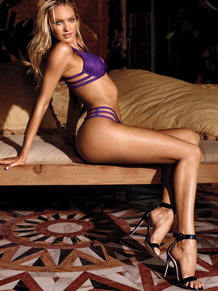 candice swanepoel victorias secret lingerie12 Candice Swanepoel Stuns in Victoria's Secret Lingerie Shoot
