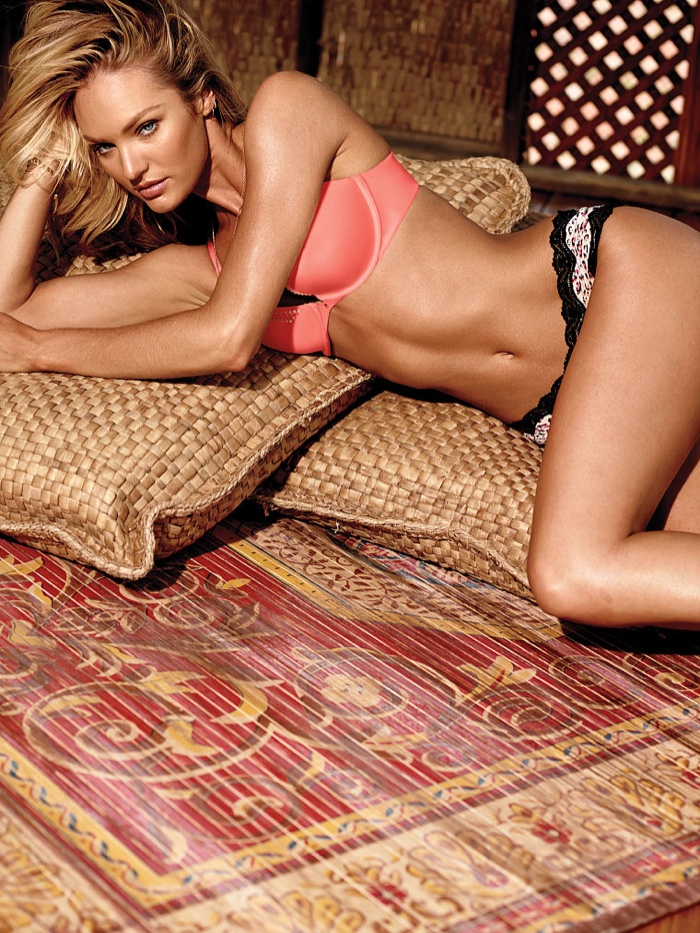 candice swanepoel victorias secret lingerie15 Candice Swanepoel Stuns in Victoria's Secret Lingerie Shoot