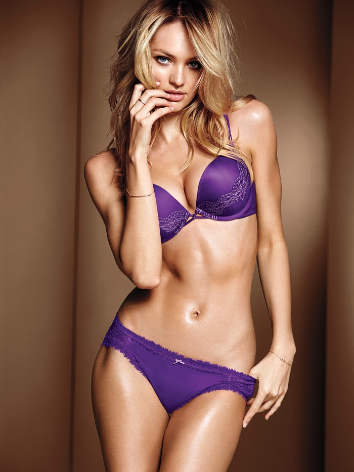 candice swanepoel victorias secret lingerie6 Candice Swanepoel Stuns in Victoria's Secret Lingerie Shoot