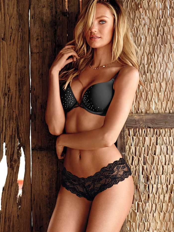 06e85c49d7 Candice Swanepoel Stuns in Victoria's Secret Lingerie Shoot ...