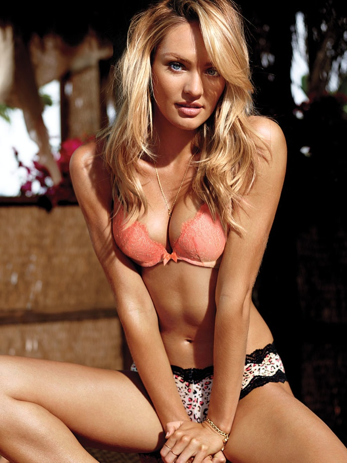 candice swanepoel victorias secret lingerie8 Candice Swanepoel Stuns in Victoria's Secret Lingerie Shoot