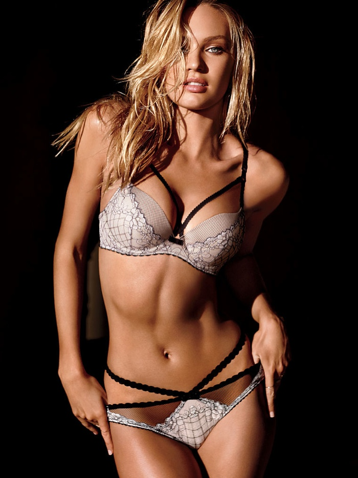 candice swanepoel victorias secret lingerie9 Candice Swanepoel Stuns in Victoria's Secret Lingerie Shoot