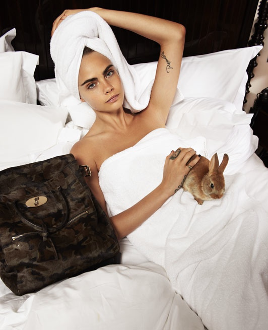 cara delevingne bed photos3 Cara Delevingne Poses in Bed for The Telegraph, Talks Sexuality