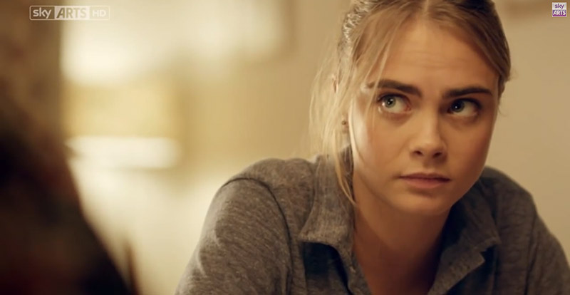 cara delevingne timeless still Watch: Cara Delevingne Shows Off Acting Chops in Timeless Clip