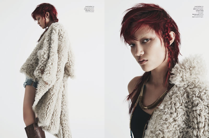 charlotte carey pictures7 Charlotte Carey is Cowgirl Chic for L'Officiel Netherlands by Billy Kidd