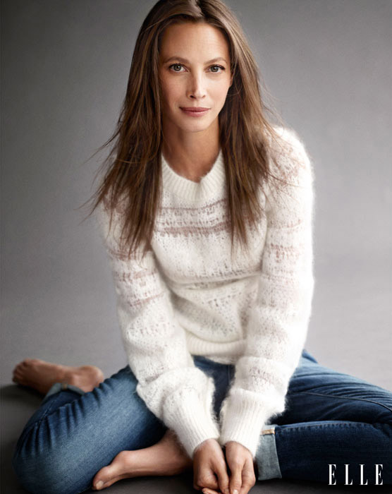 Christy Turlington Poses for Elle, Says She Embraces Getting Older