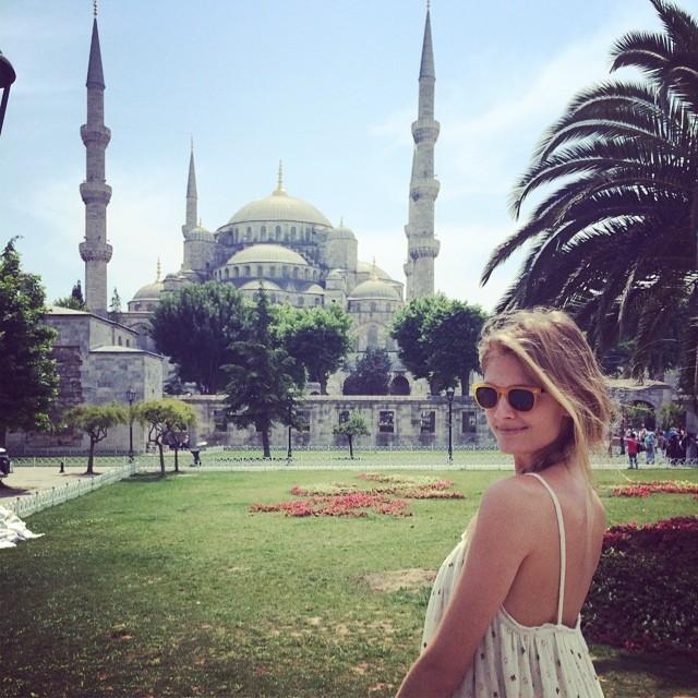 Constance Jablonski in Istanbul