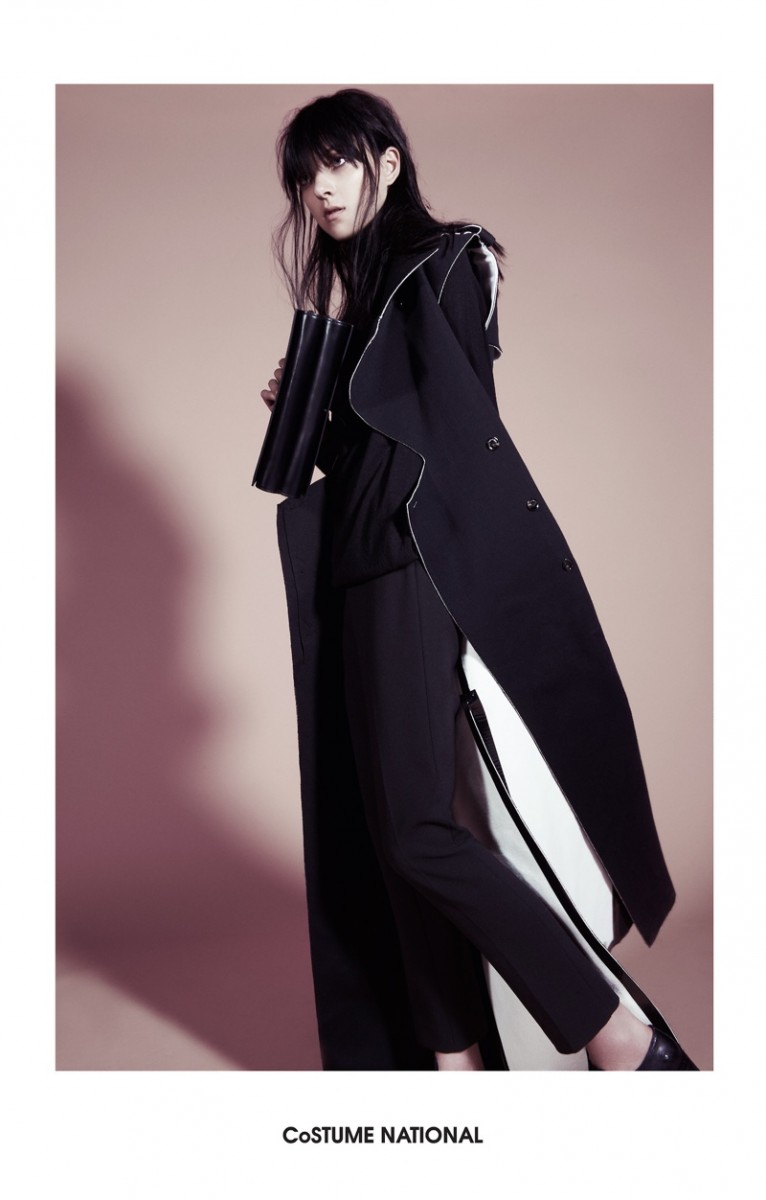 costume national 2014 fall winter campaign4 766x1200 Sarah Engelland Stars in Costume National Fall 2014 Campaign