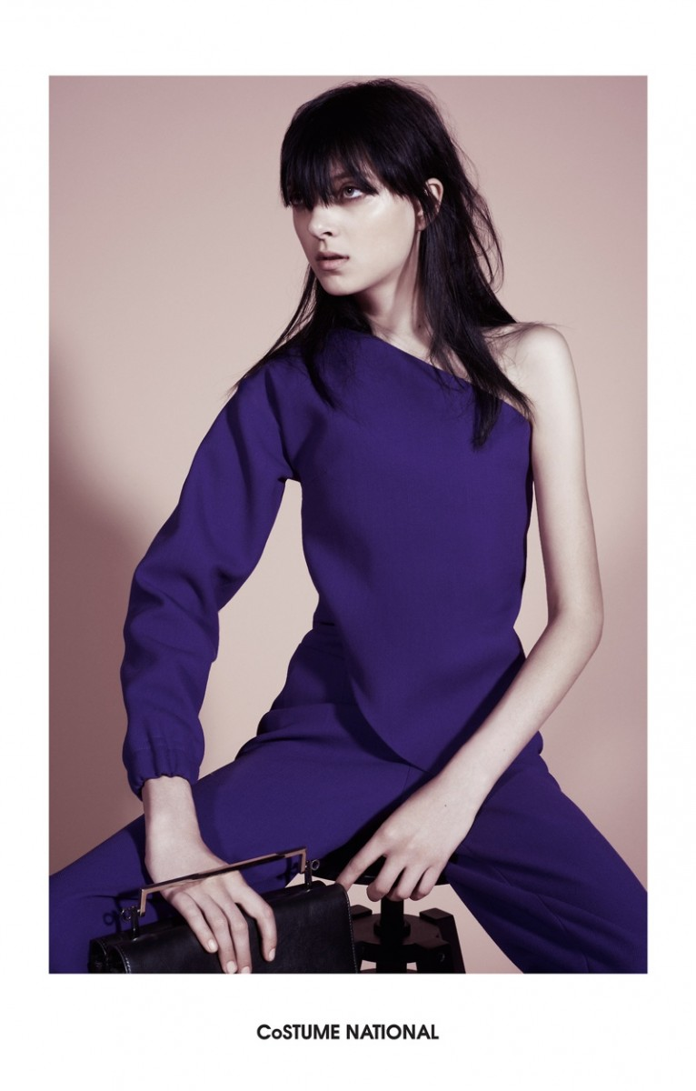 costume national 2014 fall winter campaign5 766x1200 Sarah Engelland Stars in Costume National Fall 2014 Campaign