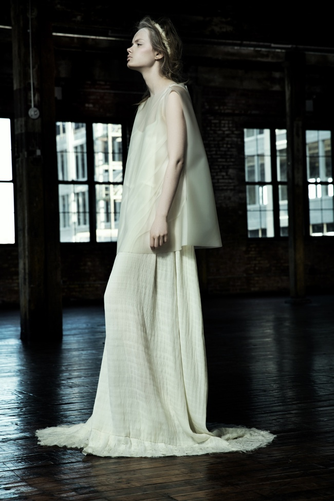 danica zheng designs1 Shades of Pale: Danica Zhengs Fall/Winter 2015 Collection