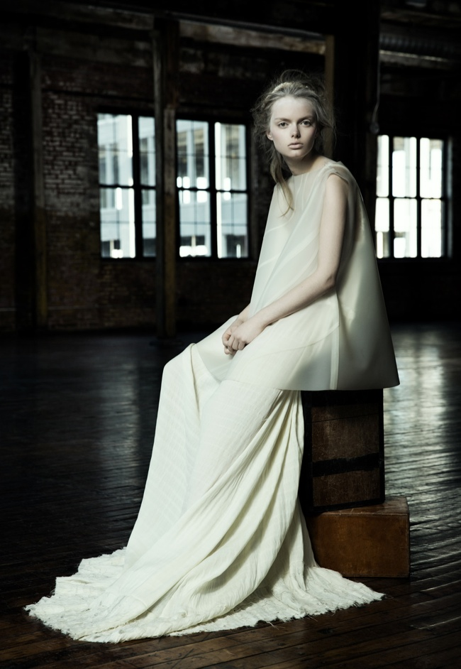 danica zheng designs2 Shades of Pale: Danica Zhengs Fall/Winter 2015 Collection