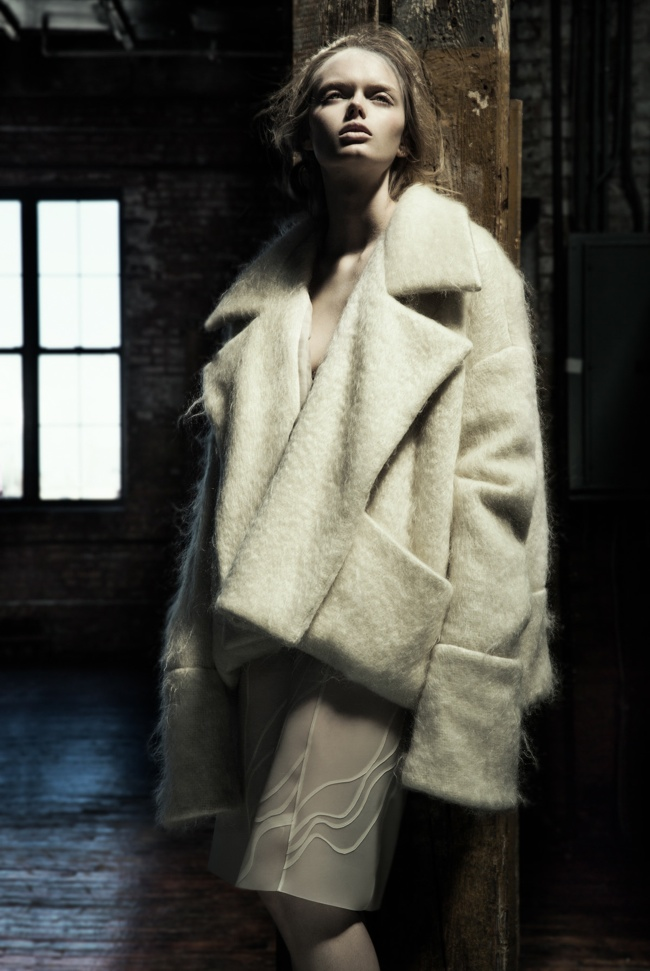 danica zheng designs3 Shades of Pale: Danica Zhengs Fall/Winter 2015 Collection