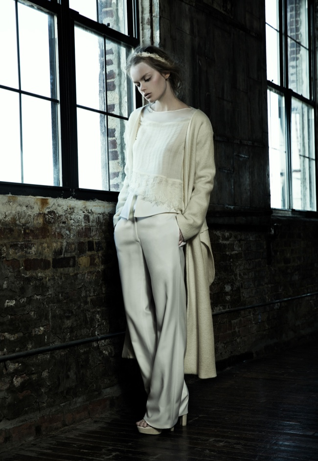 danica zheng designs4 Shades of Pale: Danica Zhengs Fall/Winter 2015 Collection
