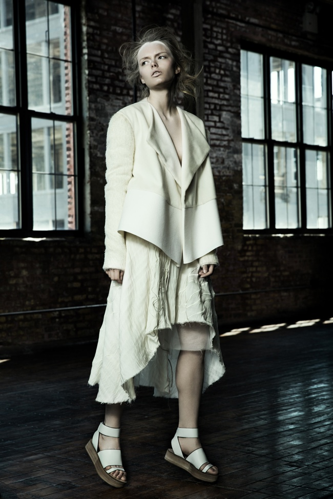 danica zheng designs8 Shades of Pale: Danica Zhengs Fall/Winter 2015 Collection