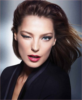 Daria Werbowy Gives a Wink in New Lancôme x Jason Wu Makeup Ad
