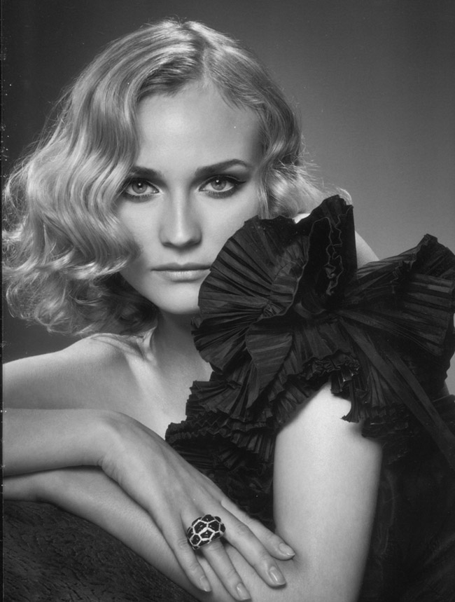 diane kruger unicef calendar 2006 Diane Kruger Reveals Work on Jason Wu Handbag