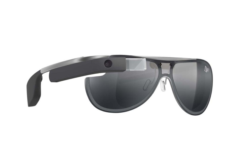 diane von furstenberg google glass designs1 Geek Chic! Diane von Furstenberg Designs Google Glass Frames