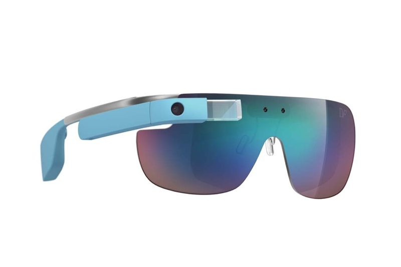 diane von furstenberg google glass designs2 Geek Chic! Diane von Furstenberg Designs Google Glass Frames