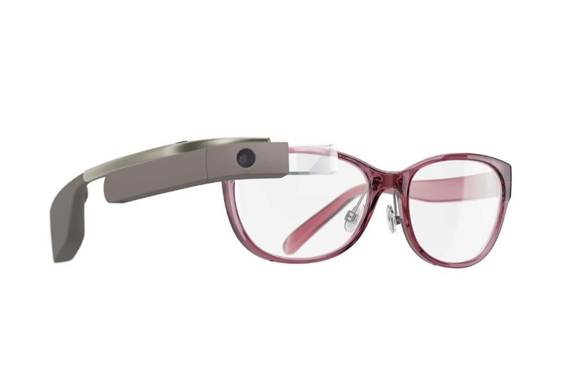 diane von furstenberg google glass designs3 Geek Chic! Diane von Furstenberg Designs Google Glass Frames