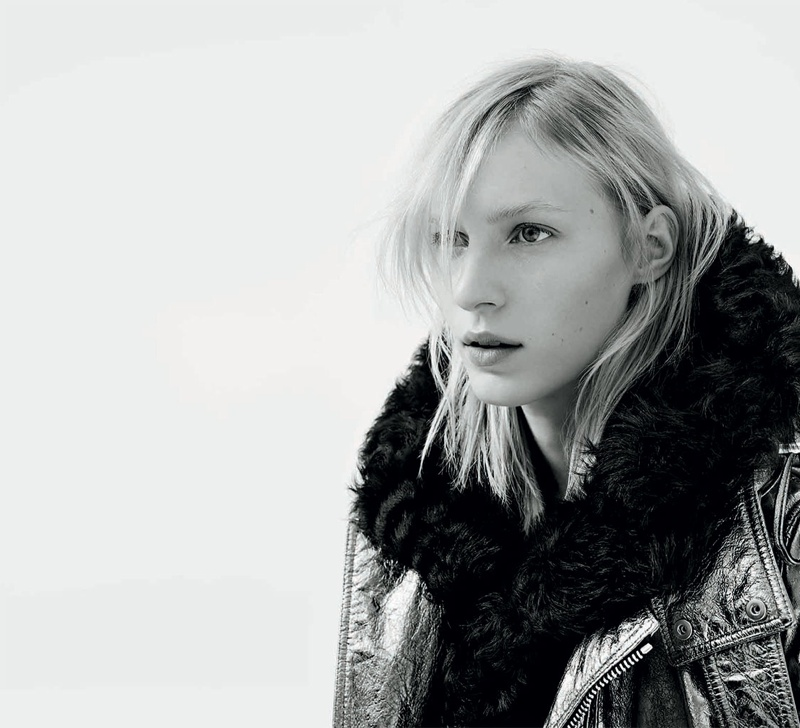 diesel black gold fall winter 2014 campaign2 Julia Nobis is Winter Cool for New Diesel Black Gold Campaign