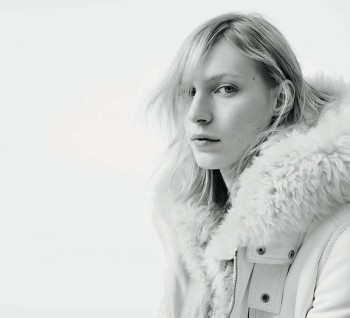 Julia Nobis is Winter Cool for New Diesel Black Gold Campaign
